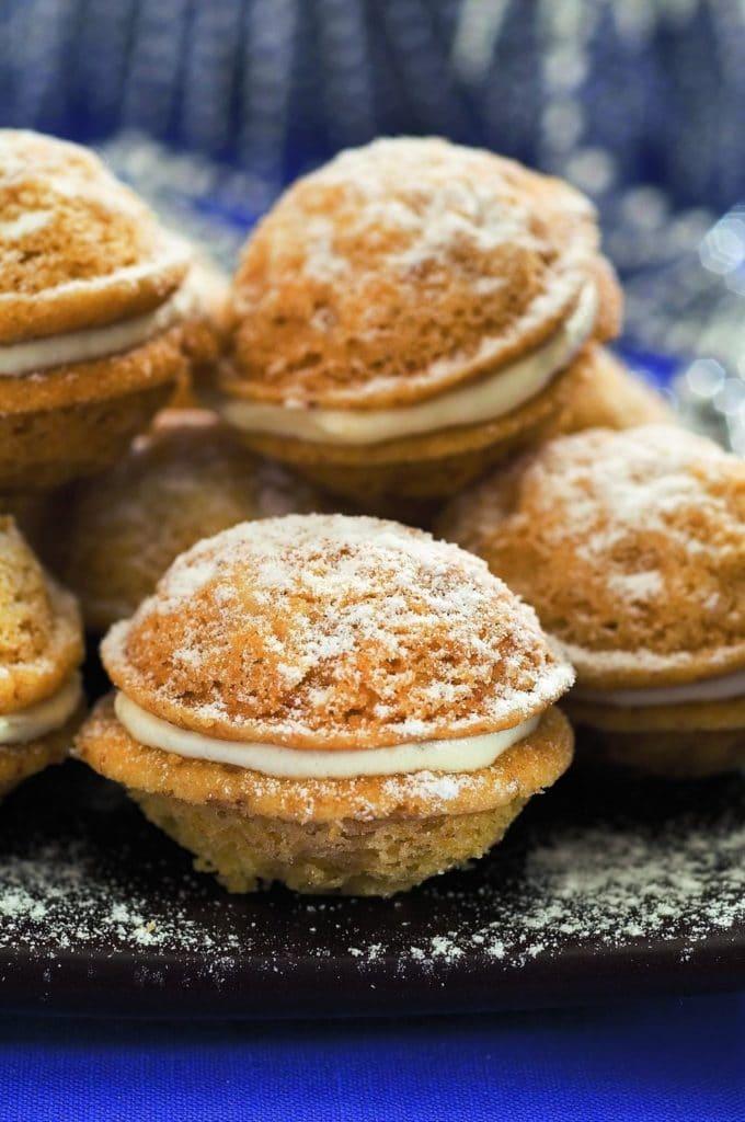 Vánoční cukroví plněné ořechy