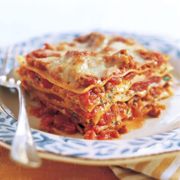 Lasagne a mlete maso