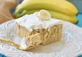 Banán v moučníku působí cizokrajně.