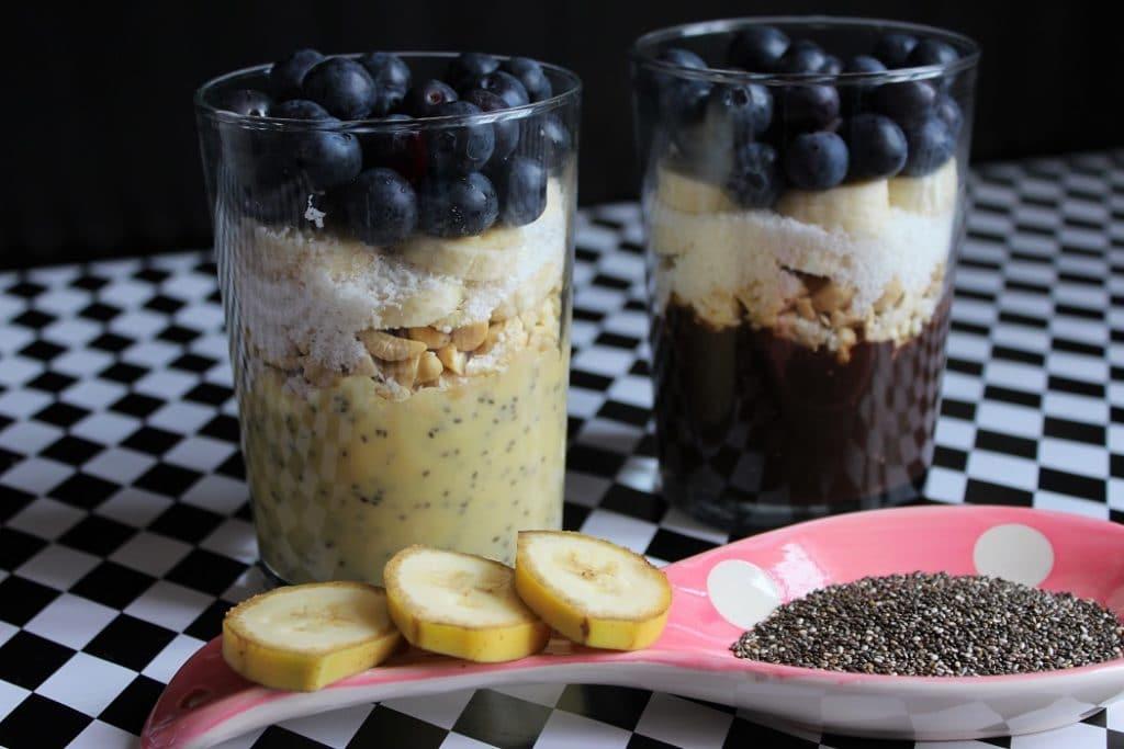 banánové dezerty recepty