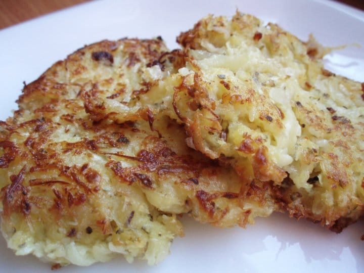 Recept na bramboráky se zelím