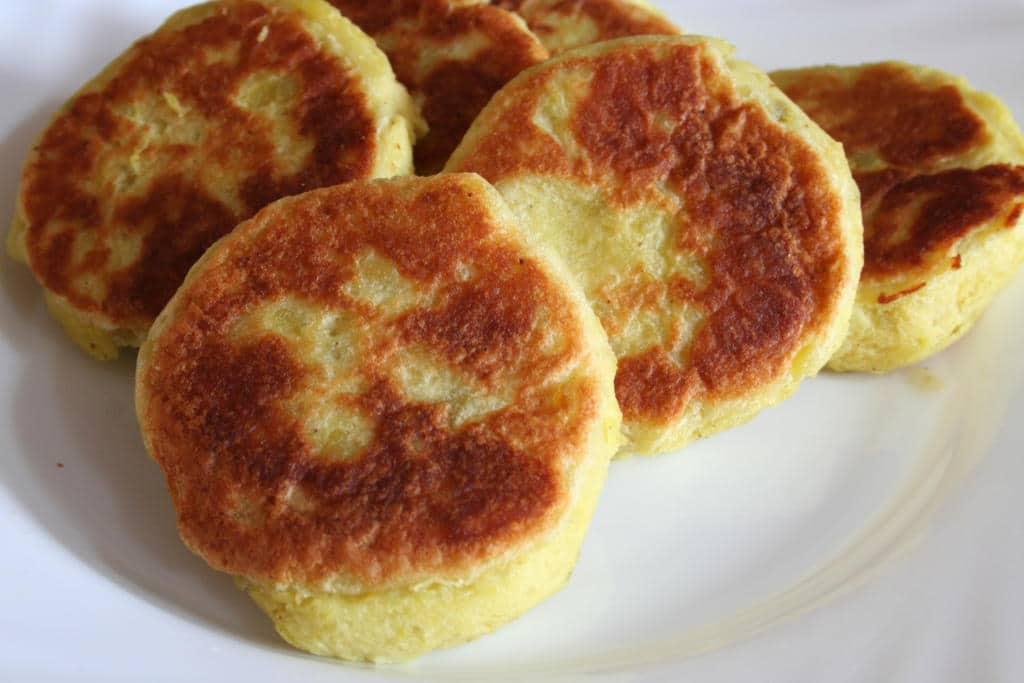 Recept na bramborové placky z vařených brambor