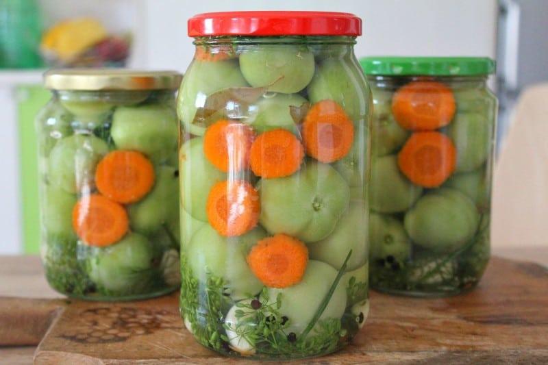 Hotový recept na čalamádu z nezralých rajčat