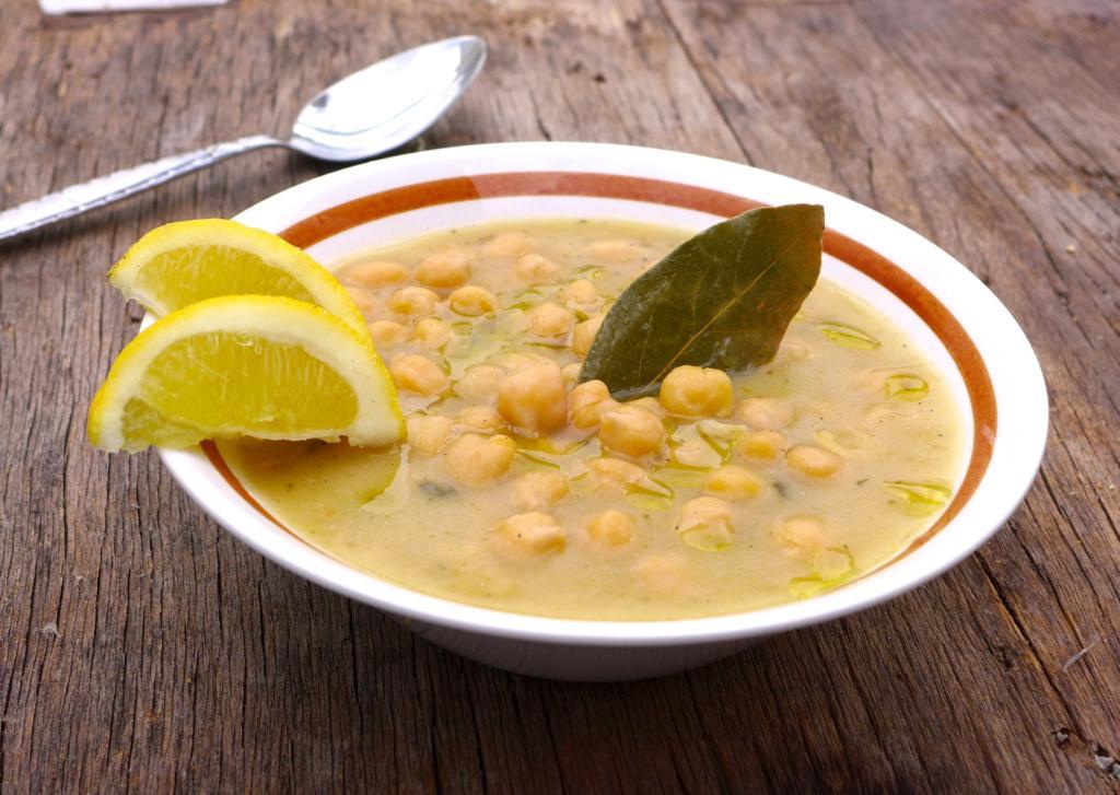 Recept na cizrnovou polévku