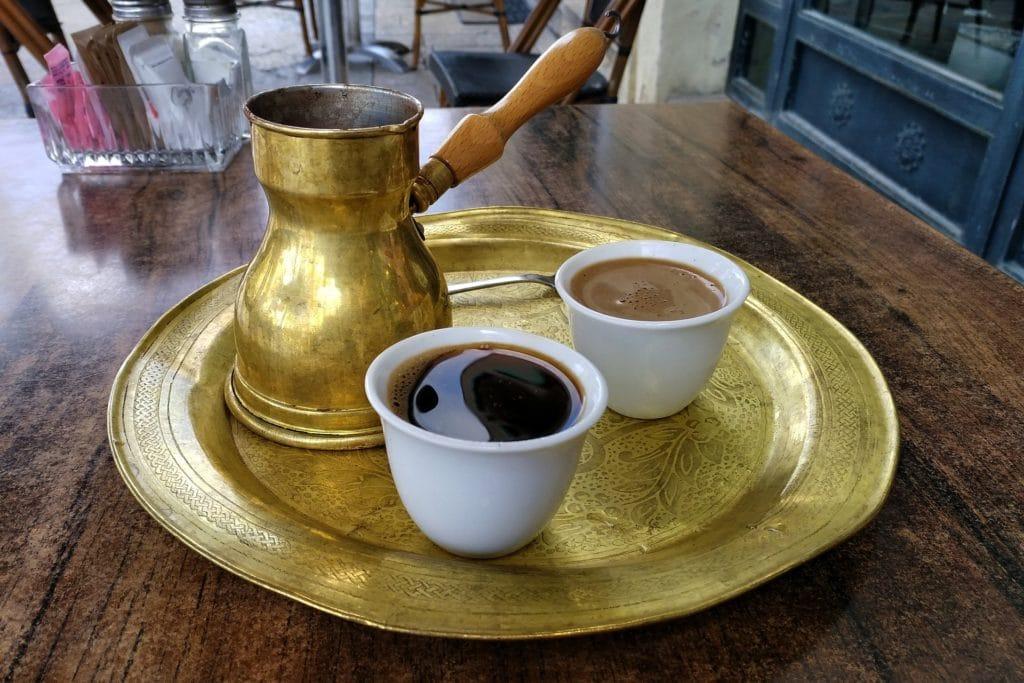 káva z Turecka