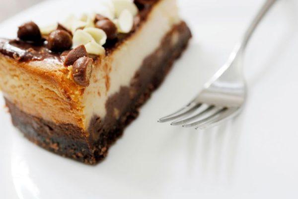 Kremovy dort z cokolady