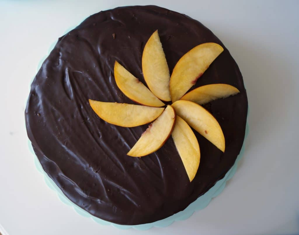 Ovocny dost s cokoladou