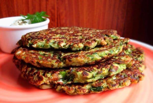 Cuketa jako zeleninová příloha- fitness placičky