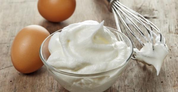 Dietní majonéza z vařených bílků