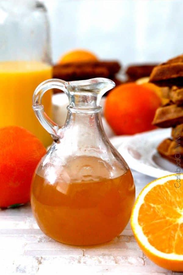 Domácí pomerančový sirup