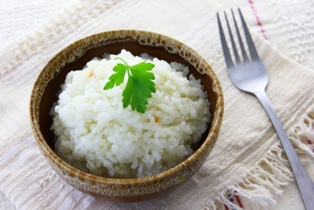 Dušená rýže v troubě