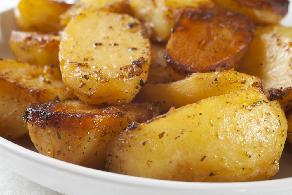 Recept na dušené brambory