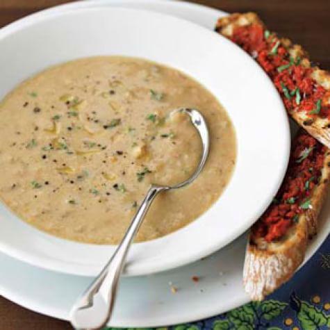 Hotový recept na fazolovou polévku