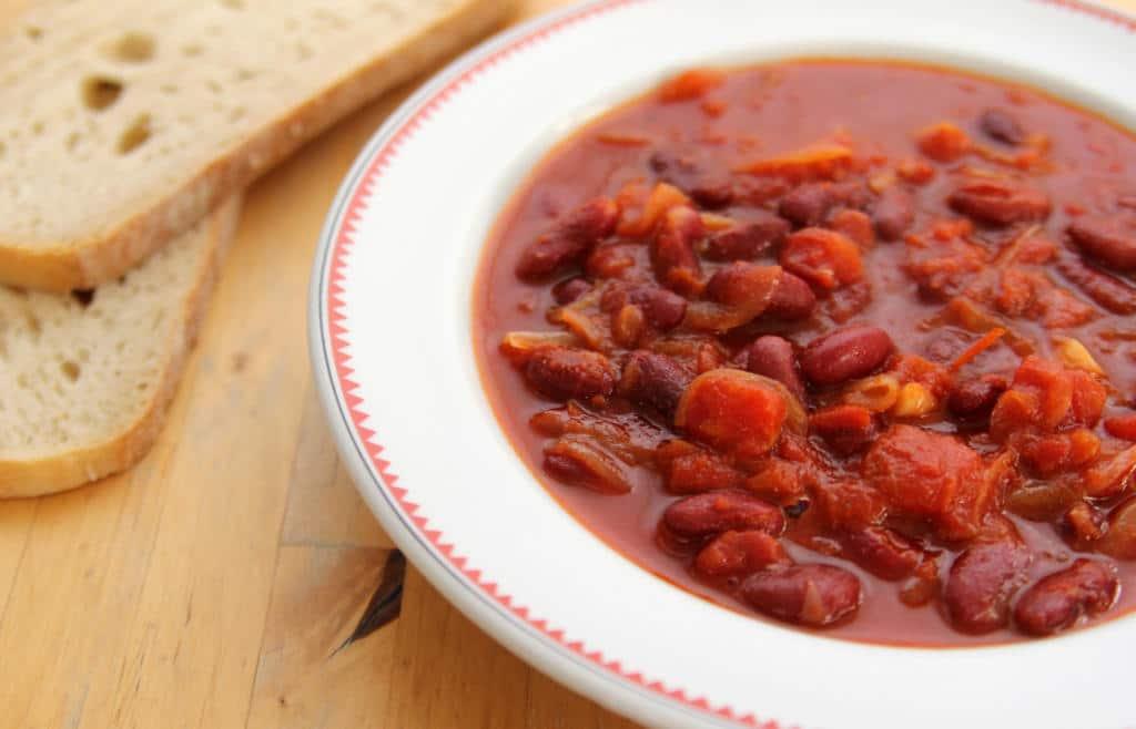 Recept na fazolový guláš