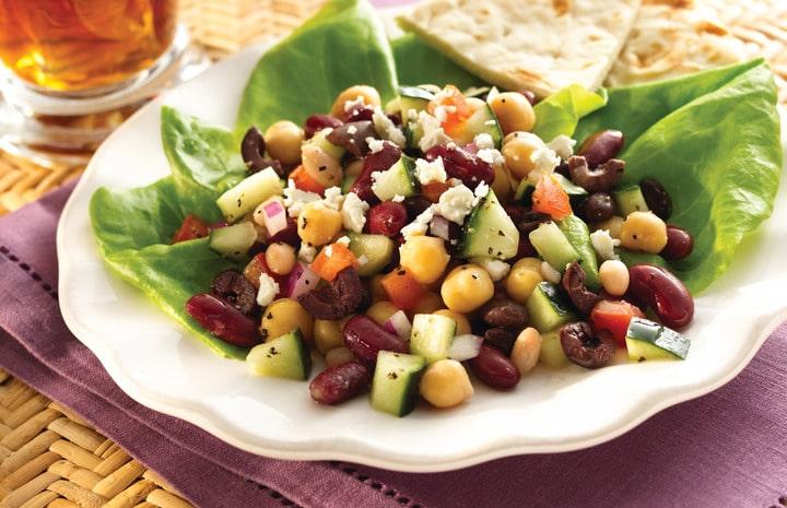Recept na fazolový salát