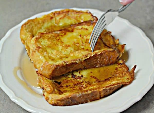 Francouzsky toast se syrem a sunkou