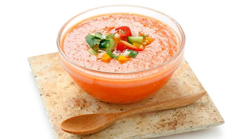 Hotový recept na gazpacho