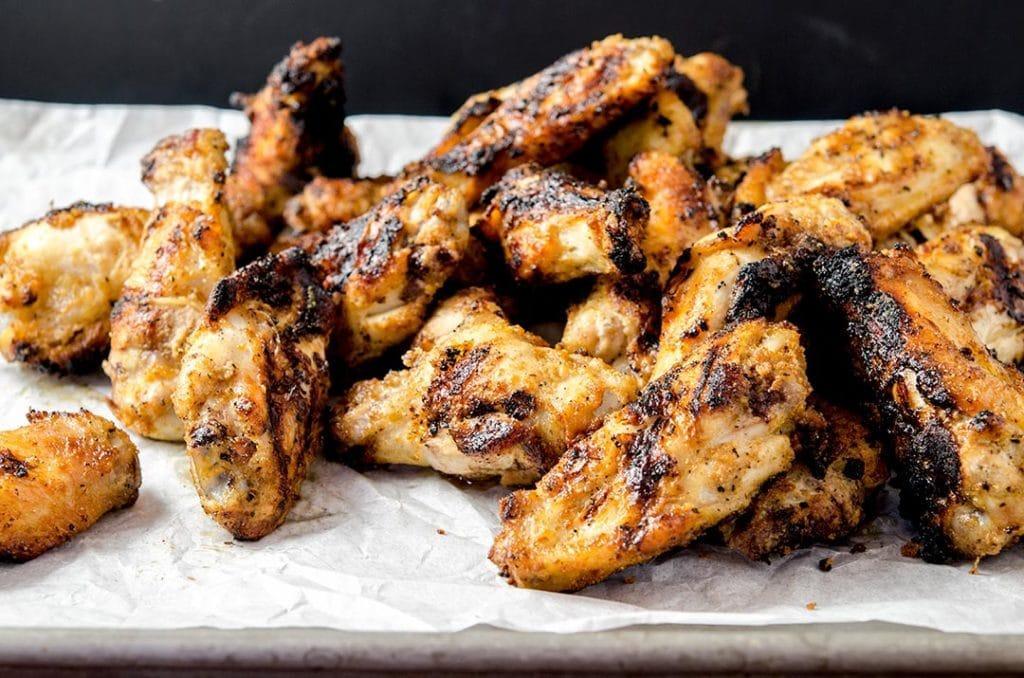 Recept na grilovaná kuřecí křidýlka