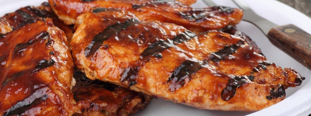 Recept na grilovaná kuřecí prsíčka
