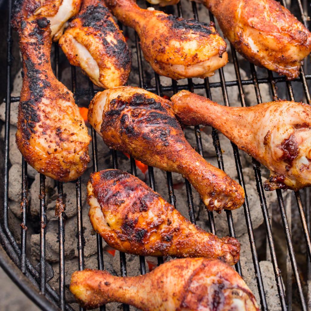 Recept na grilované kuřecí paličky