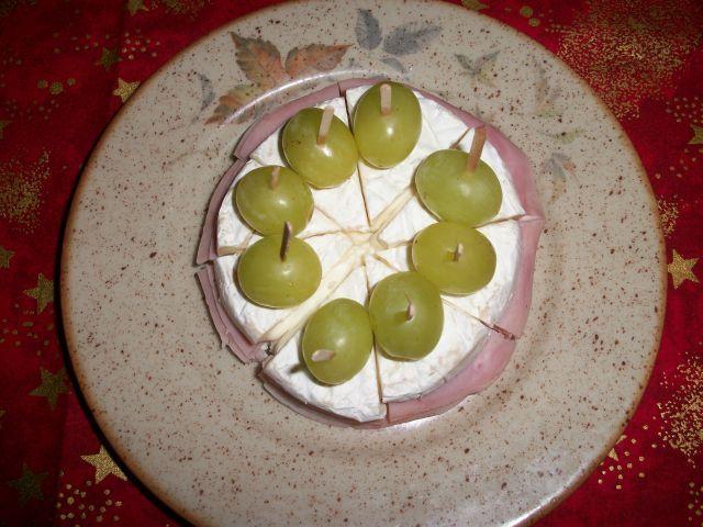 Hermelínový slaný dortík