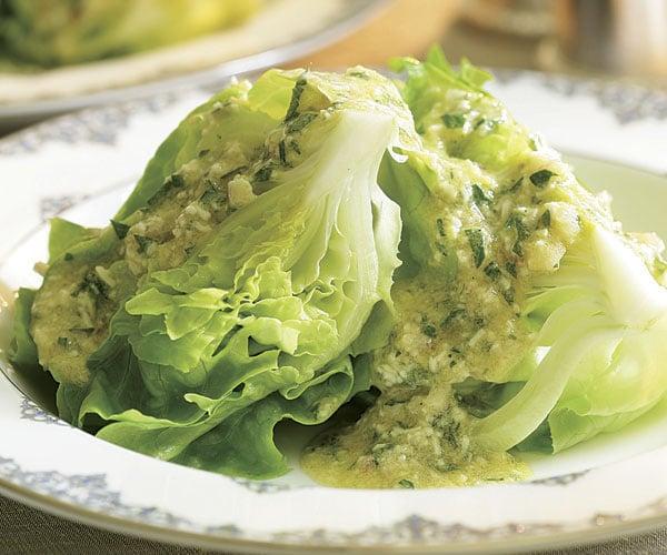 Hlávkový salát Mimosa