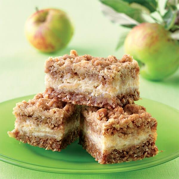 Recept na jablkové sladké řezy