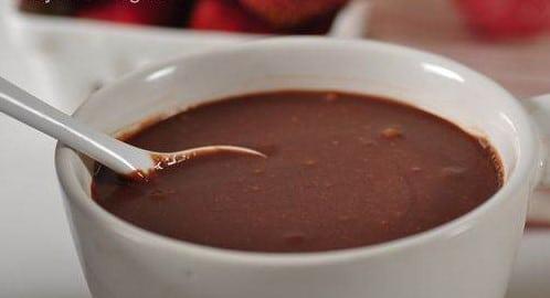 Kokosovo-rumová poleva s kakaem