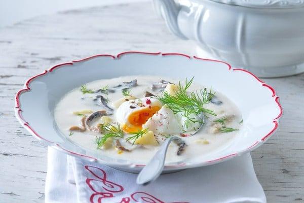 Koprová polévka Kulajda