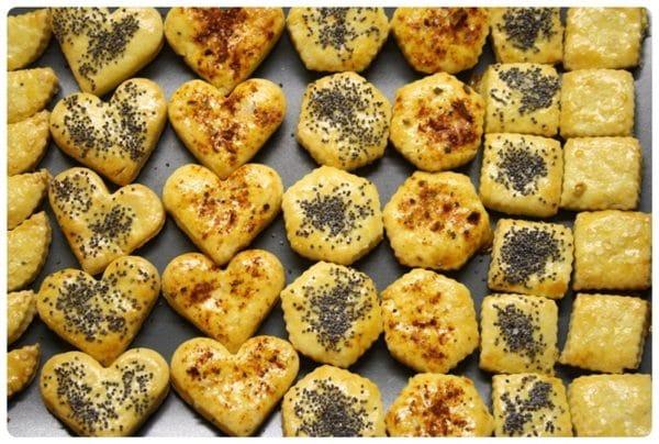 Křehké slané pečivo z brambor