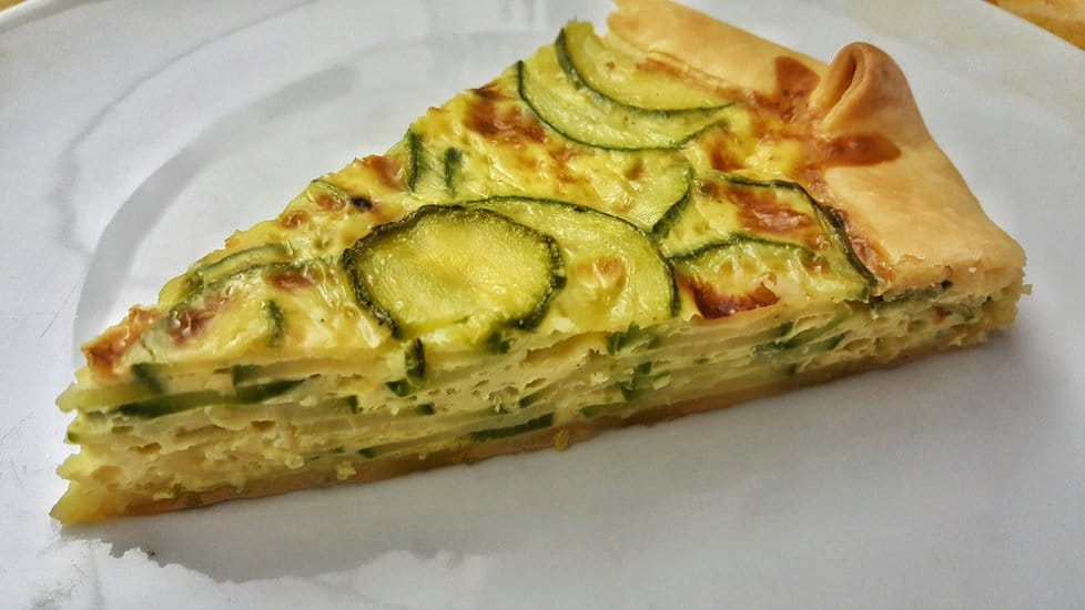 Recept na listový koláč s cibulí