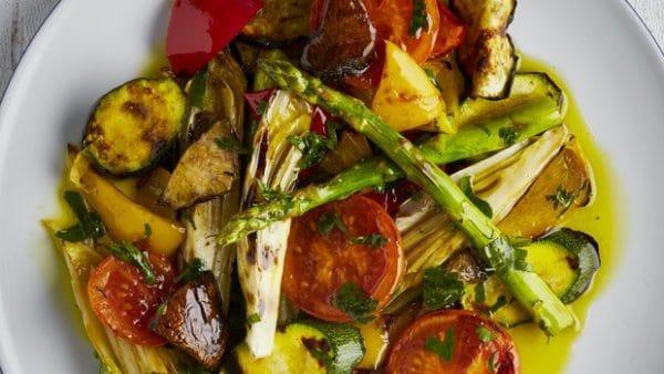 Marinovaná grilovaná zelenina