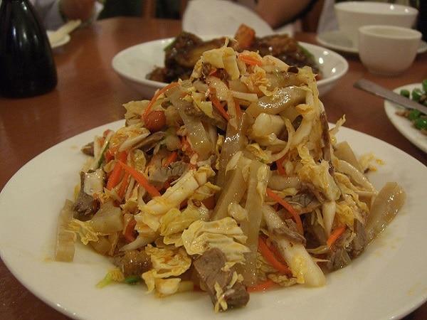 Skvělý recept na maso s hlávkovým zelím stir-fry