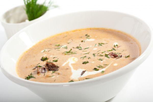 Masová krémová polévka