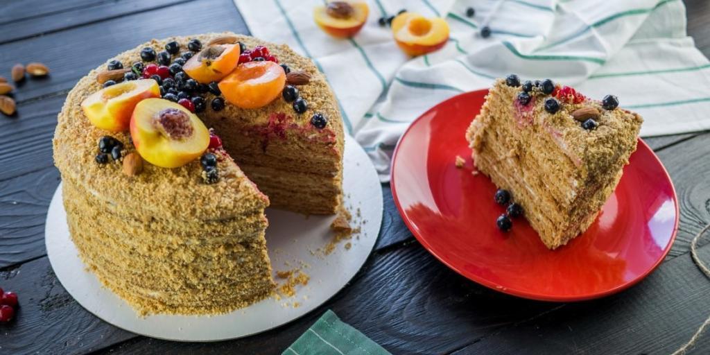 Medovníkový dort