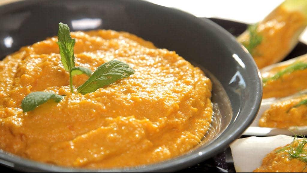 Recept na mrkvovou pomazánku