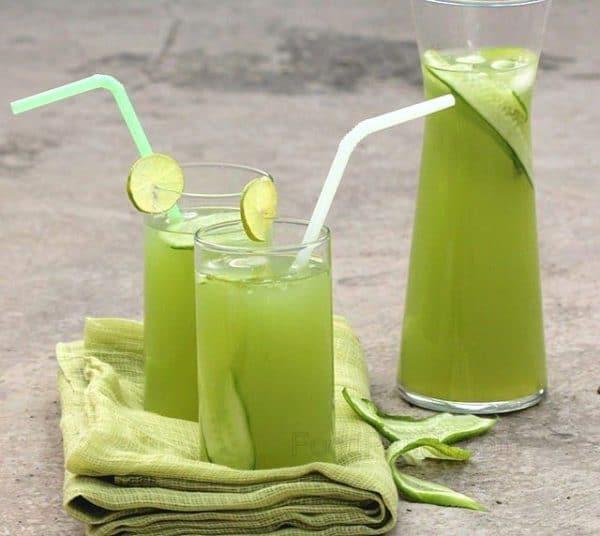 Osvezujici okurkova limonada