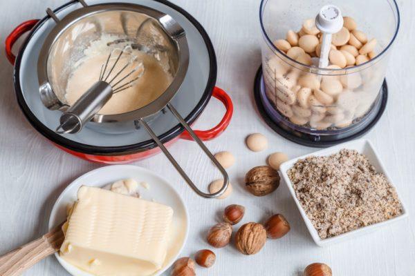 Ořechový krém do cukroví