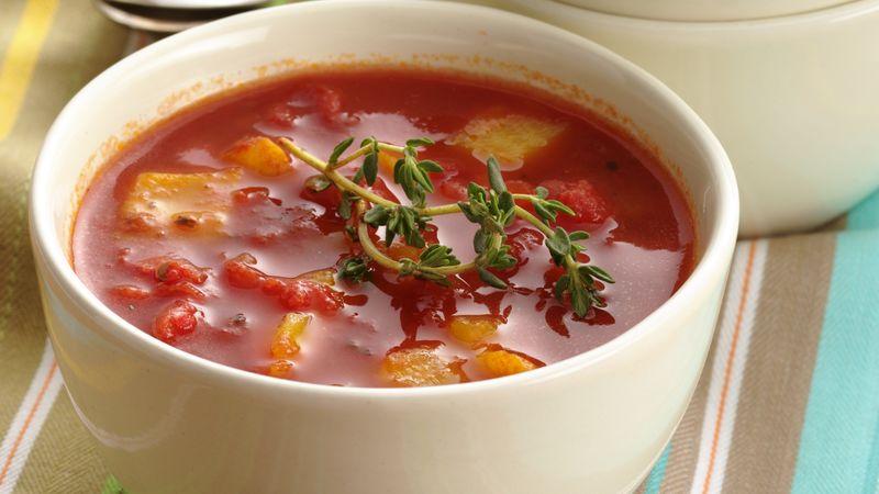 Recept na paprikovou polévku