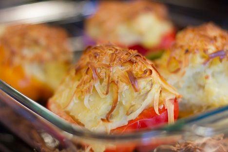 Hotový recept na papriky s bramborem