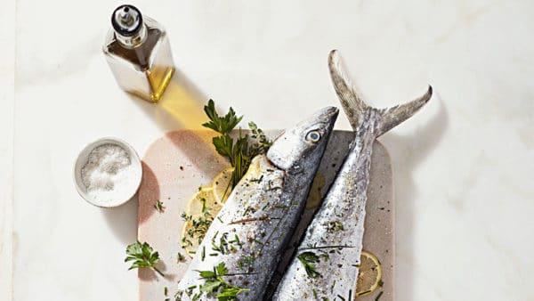 Pečená makrela s bylinkami