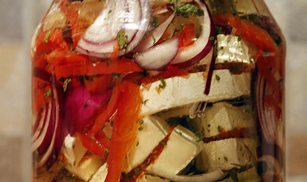 Pikantní utopenci ze sýru