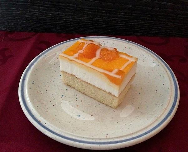 Hotový recept na skvělé mandarinkové řezy