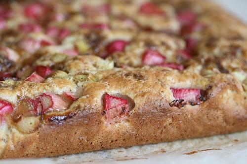Hotový recept na rebarborový koláč