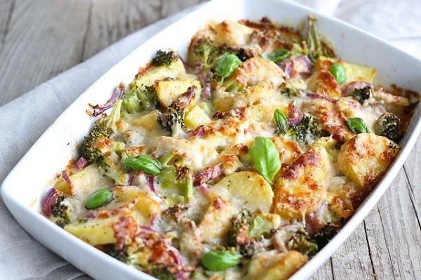 Hotový recept na chutné zapečené brambory