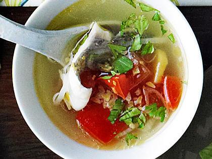 Rybí polévku lze uvařit i z tresky.
