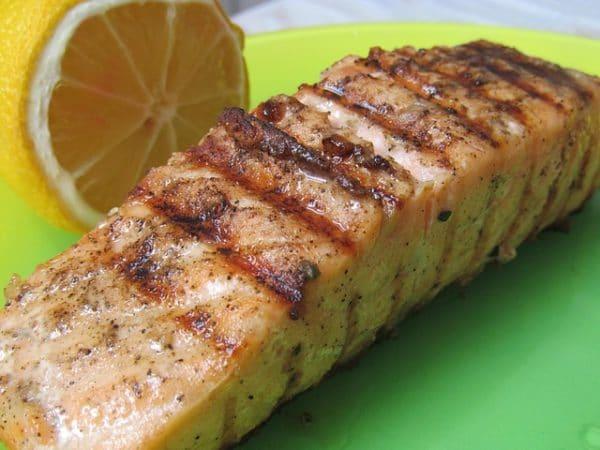 Hotový recept na lososa opékaného na másle