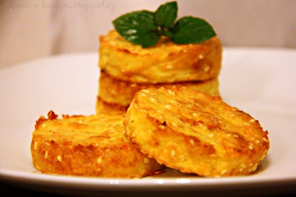 Smažené bramborové dukátky