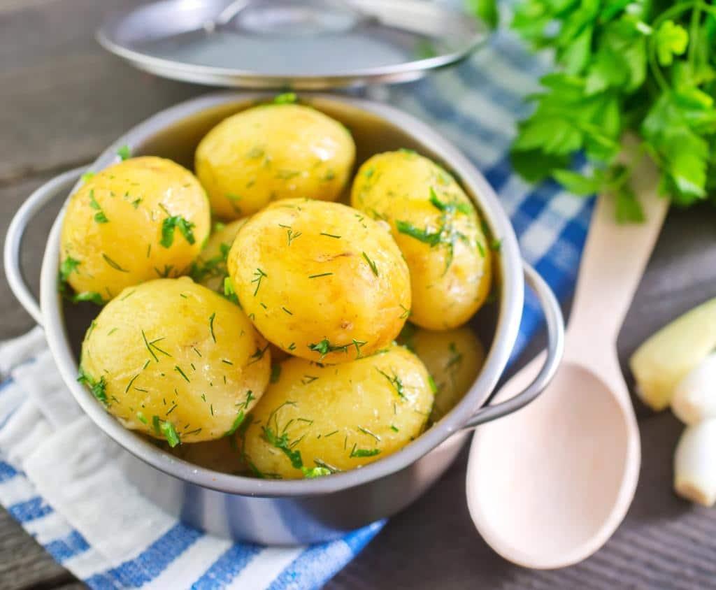 Recept na vařené brambory