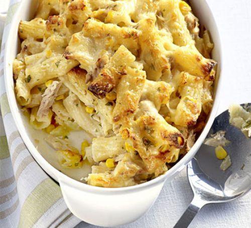 Hotový recept na zapékané těstoviny s kuřecím masem